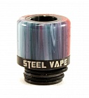 Дрип тип Steel Vape 510 (Black)