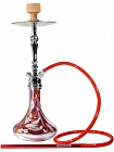 Кальян Amy Deluxe 057R Globe Chameleon Silver/Red