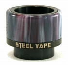 Дрип тип Steel Vape 810 (Black)