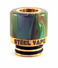 Дрип тип Steel Vape 510 (Gold)
